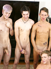 Bareback Twink Boy Orgy! - Gay boys pics at Twinkest.com