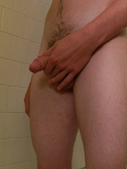 Puppy Jerks Off and Pisses In The Shower - Gay boys pics at Twinkest.com