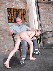 New Twink Spanked Red Raw! - Gay boys pics at Twinkest.com