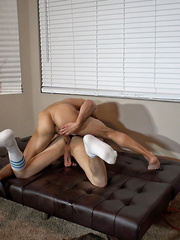 Ross gets bound, edged and fucked - Gay boys pics at Twinkest.com