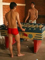 Sportin' Wood Part Two - Gay boys pics at Twinkest.com